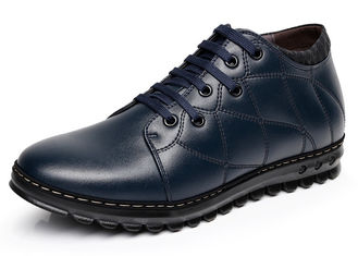 Oxfords Style Elevator Men Shoes Italian Design Genuine Leather Casual Shoes
