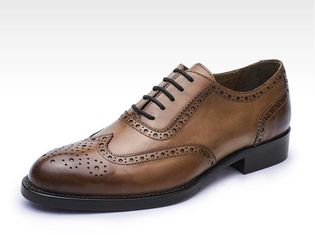 ประเทศจีน Business Lace Up Casual Shoes , Soft Leather Brand Party Wear Shoes For Mens ผู้ผลิต