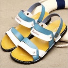 ประเทศจีน Blue Mens Flip Flop Slippers , Front & Rear Strap Slip On Men Outdoor Sandals บริษัท